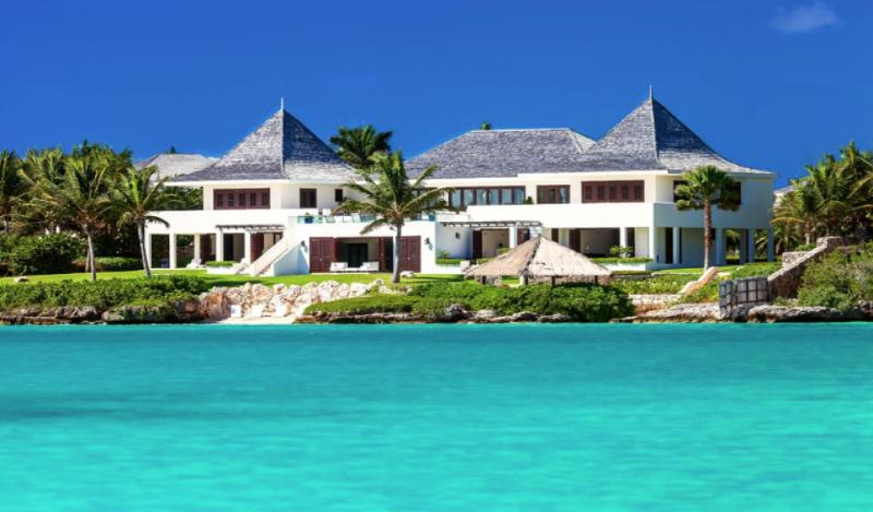 Luxury 10 bedroom Anguilla villa. Beachfront with spectacular views! - Image 1 - Anguilla - rentals