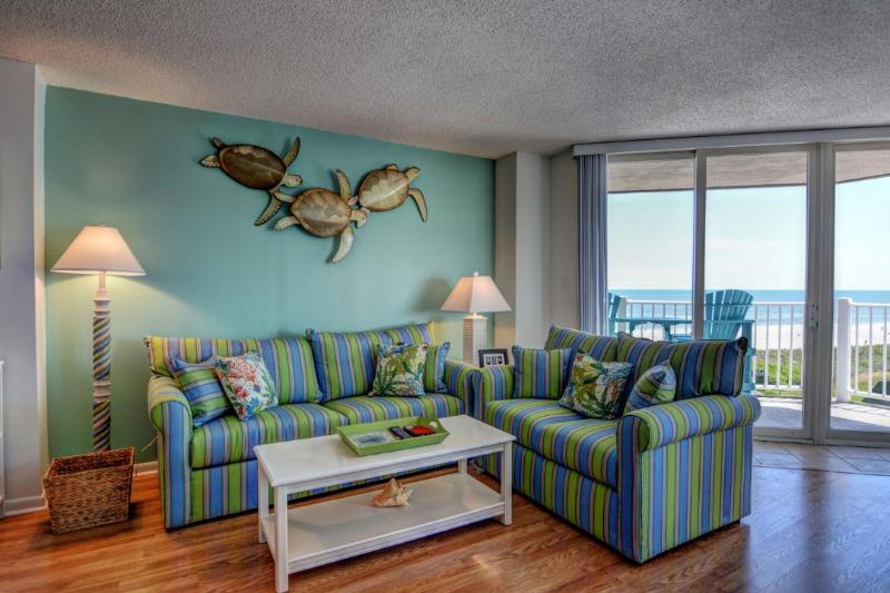 Living Area - St. Regis 2404 -2BR_8 - North Topsail Beach - rentals