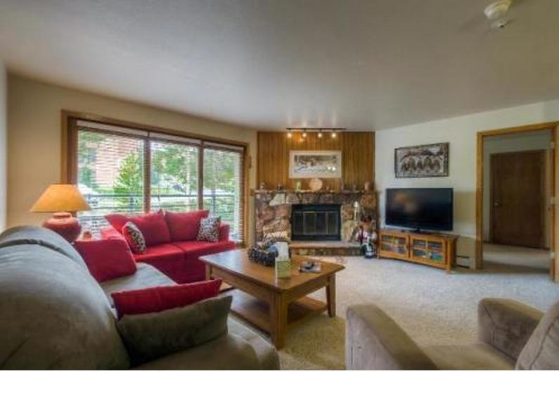 Living room - 2 Bedroom/2 Bath Condo in Wildernest - Silverthorne - rentals