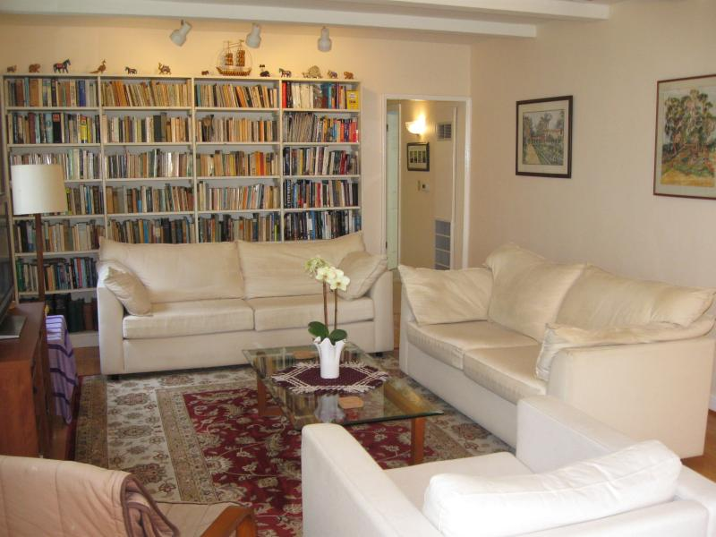 Living room - Beautiful home on quiet, safe street - West Hollywood - rentals