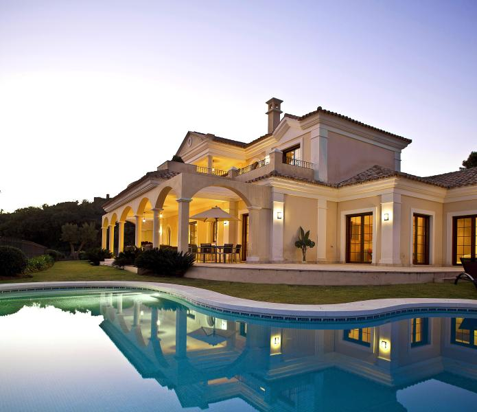 "Villa at dusk - ""Shangri-La"" - Luxury 5 Bed 6 Bath Villa - Benahavis - rentals"