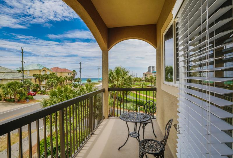 Back porch view - ALERIO D301 - Miramar Beach - rentals