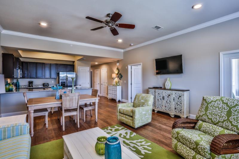 Living room view - ALERIO D202 - Miramar Beach - rentals