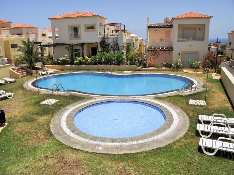The children's pool sits alongside the adult pool - Fabulous Sea Views at Marina Golf Villa and Spa. - Caleta de Fuste - rentals