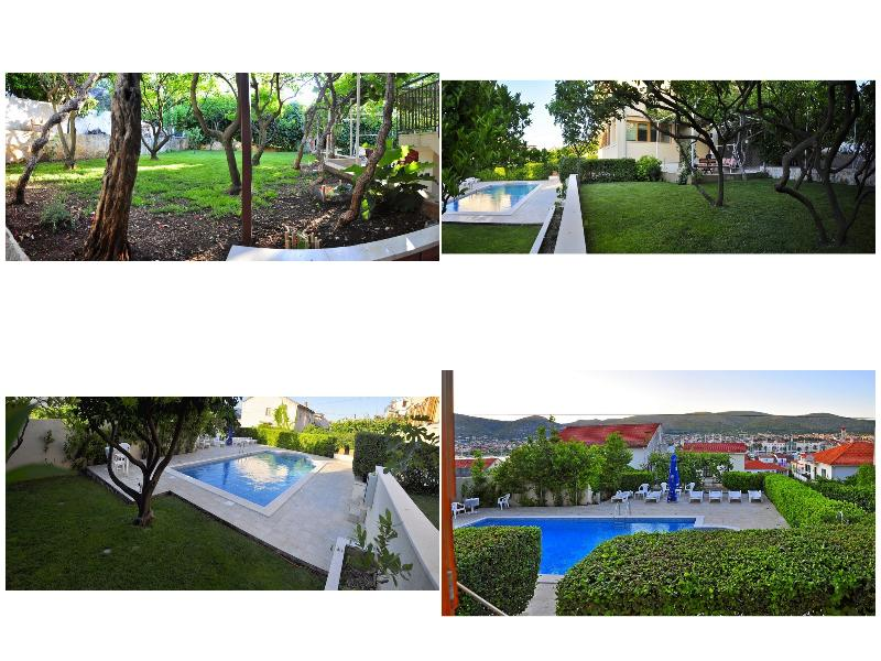 Lovely apartment with terrace and swimming pool - Image 1 - Trogir - rentals