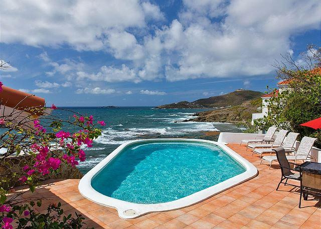 Private pool - 3 private bedroom villa overlooking St. Barth | Island Properties - Saint Martin-Sint Maarten - rentals
