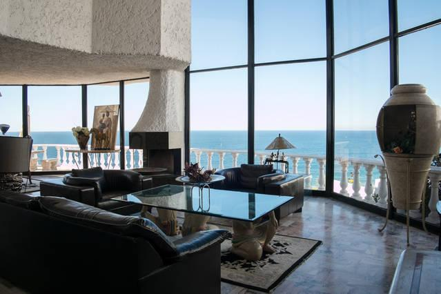 Living Room - OceanFront Villa - Ensenada - rentals