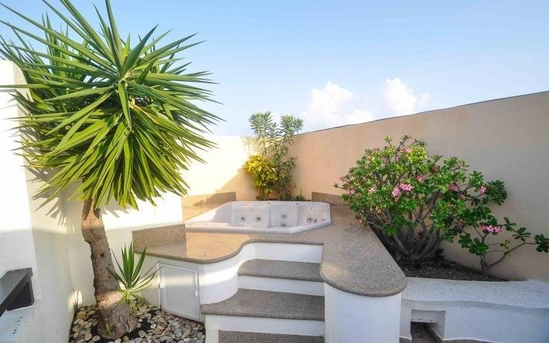 Peregrina amazing roof-top with jacuzzi, grill, outdoor seating - PEB304 Best 3 Bedroom Penthouse Playa del Carmen - Playa del Carmen - rentals