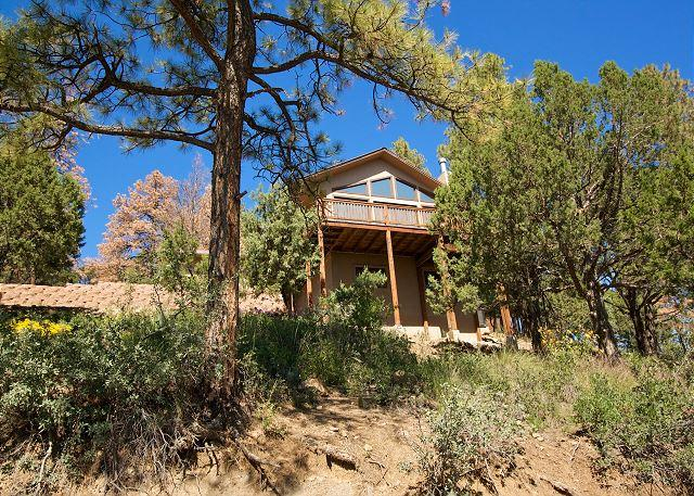 Mountain Chalet is a great modern mountain top home with beautiful views. - Image 1 - Ruidoso - rentals