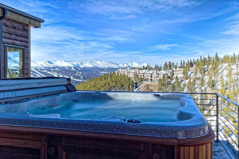 View from upper deck - Miners' Clubhouse - Breckenridge - rentals