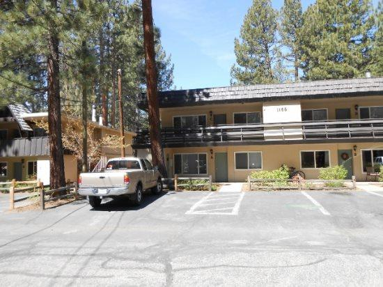 Front View - 1168H-Affordable condo with hot tub and summer pool, great in town location - South Lake Tahoe - rentals