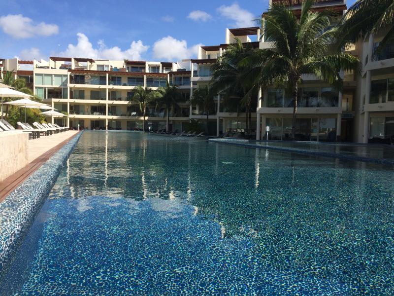 The Elements, Ocean Front Condo with Beach Club - Image 1 - Playa del Carmen - rentals