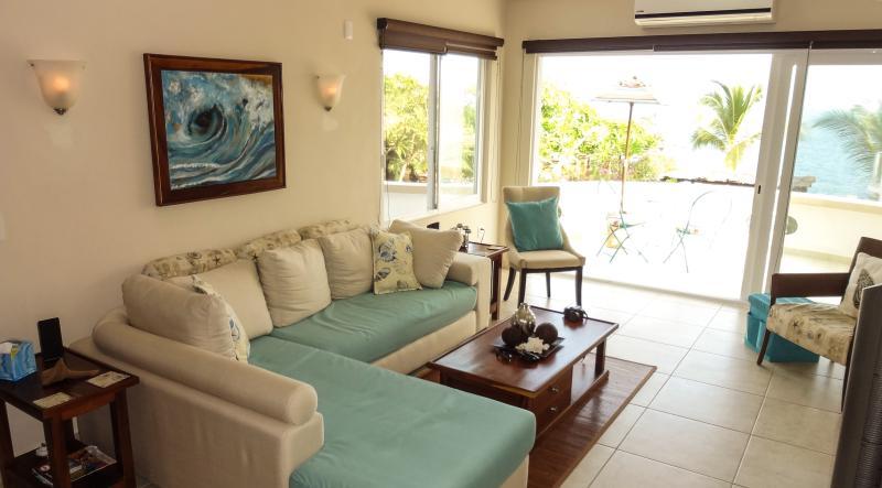 2 BR and 2 bathrooom luxury condo for 4 people - 2 BR ocean view condo in best area of Puerto! - Puerto Escondido - rentals