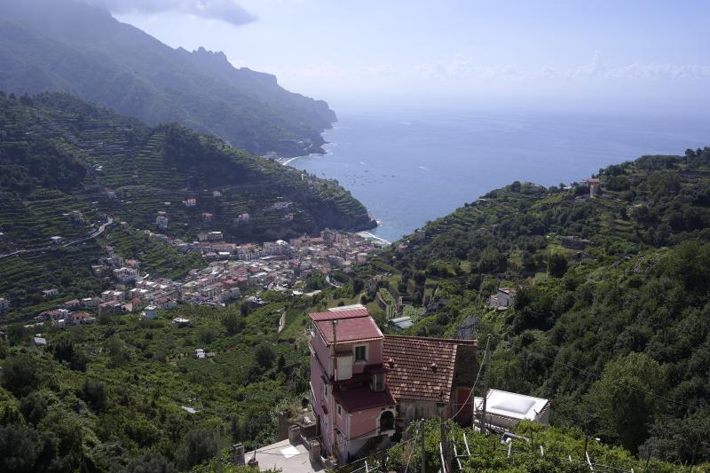 View from the balcony. - Breathtaking sea view on Amalfi Coast, Ravello. - Ravello - rentals