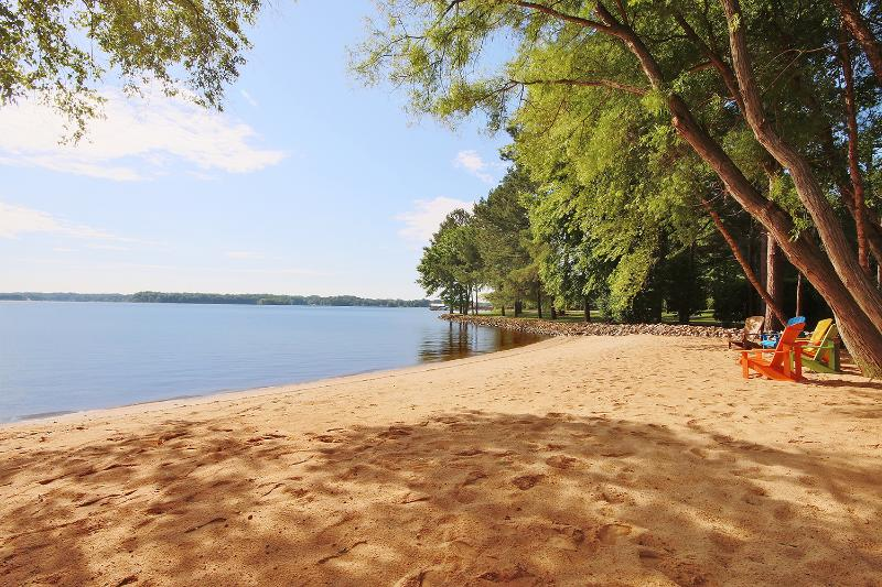 Large, natural beach! - Luxurious Lake Living - Mooresville - rentals