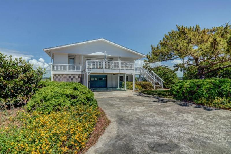 Front of home - 1702 Carolina Blvd. - Topsail Beach - rentals