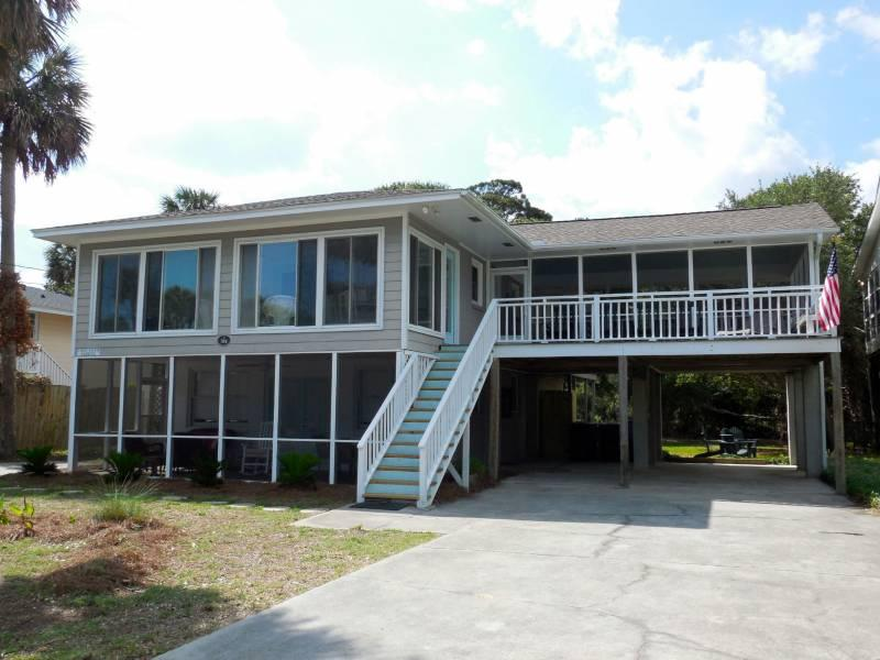 A Peace of Time - A Peace of Time - Down - Folly Beach, SC - 2 Beds BATHS: 1 Full - Folly Beach - rentals