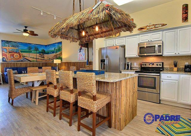 Breakfast bar - Come Enjoy the new standard in Vacation properties on North Padre Island - Corpus Christi - rentals