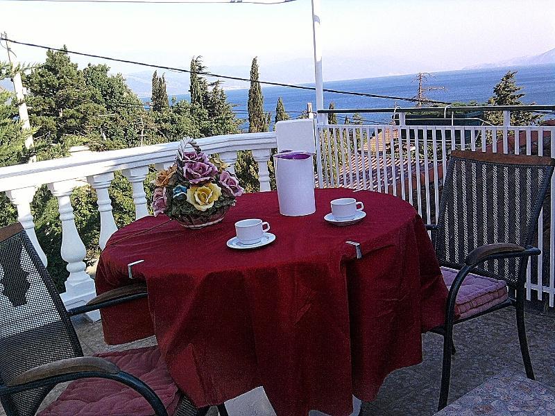 terrace - App. for 4, Novi Vinodolski - Novi Vinodolski - rentals