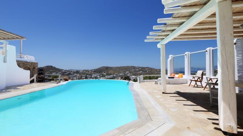 Angerona - Luxury villa near famous Ornos beach - Image 1 - Ornos - rentals