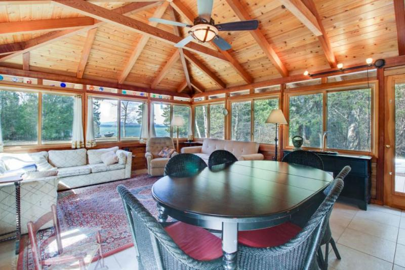 Secluded, wooded & dog-friendly home on the lake w/ elegant decor - Image 1 - South Hero - rentals