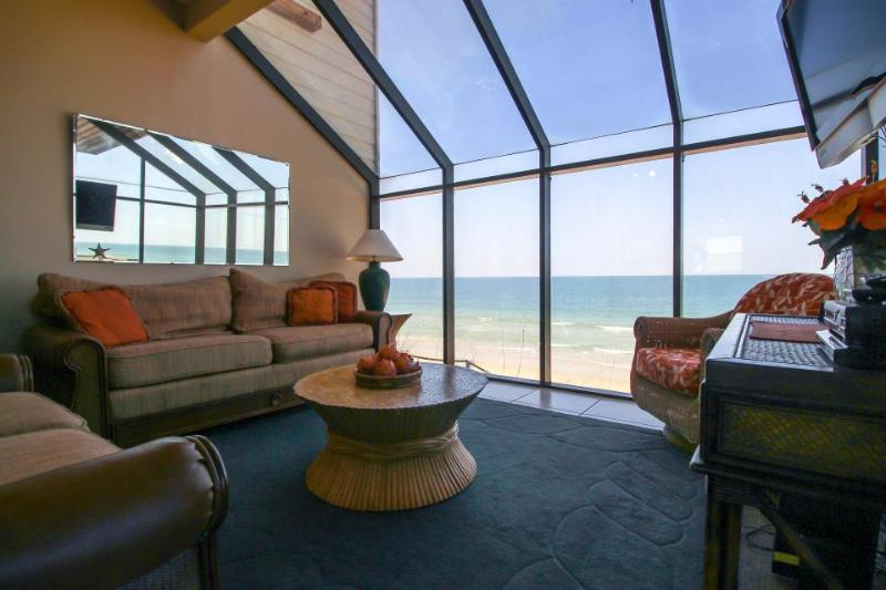 Oceanfront condo w/ breathtaking beach views & private beach access - dogs OK! - Image 1 - Saint Augustine - rentals