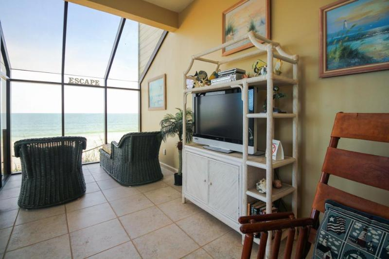 Walk your dog on the beach or take in the view from your oceanfront condo! - Image 1 - Saint Augustine - rentals