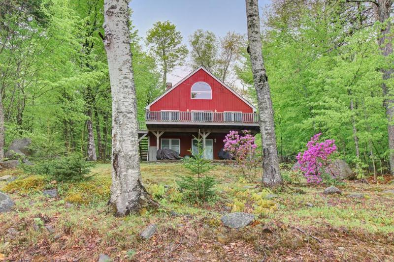 Retreat w/ dock & stunning lake views, only 45 minutes from Bar Harbor - Image 1 - Dedham - rentals