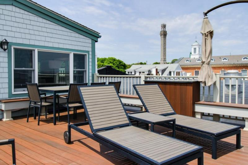 Oceanfront penthouse right on the beach & Commercial St - newly renovated! - Image 1 - Provincetown - rentals