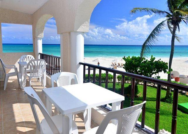 End cap unit! Oceanfront 3 bedroom in Xaman Ha (XH7123) - Image 1 - Playa del Carmen - rentals