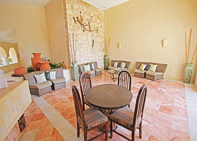 Pool and Common Areas - Penthouse! Oceanfront 3 bedroom  in Xaman Ha (XH7117) - Playa del Carmen - rentals