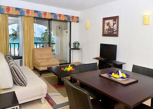 Xaman Ha 7116 Interior - Oceanfront with pool 1 bedroom in Xaman Ha (7116) - Playa del Carmen - rentals