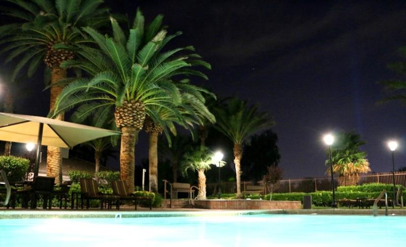 Heated pool at night - Living in paradise,  community at golf course - Las Vegas - rentals