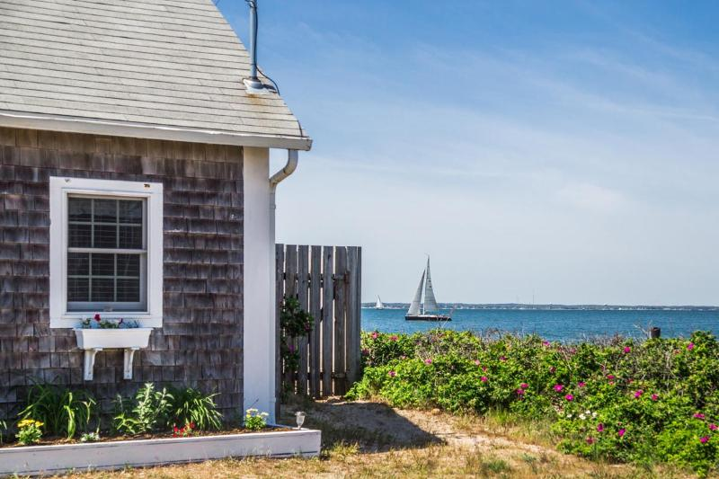 LEHNP - Beach Front East Chop Cottage,  Spectacular Views,  Perfect Getaway Cottage for two - Image 1 - Oak Bluffs - rentals