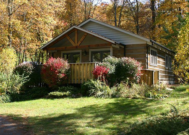 Creekside Cabin with bubbling hot tub, WIFI, Fireplace & Pets Welcome! - Image 1 - Fleetwood - rentals