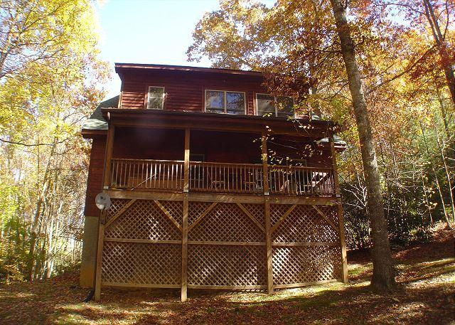 """AMONG THE LAURELS"" Tucked Away With Hot Tub, But Close To It All! - Image 1 - McLeansville - rentals"