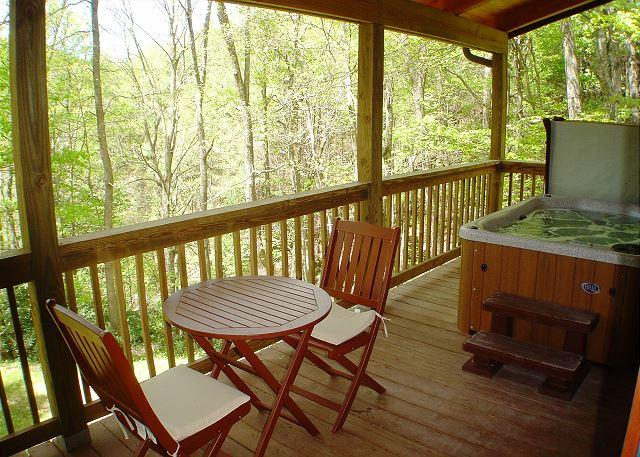 """AMONG THE LAURELS"" Tucked Away W/Hot Tub. Lower Summer Rates Available! - Image 1 - McLeansville - rentals"
