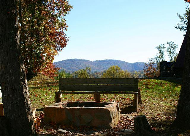Romantic Retreat with Hot Tub, Fire Pit, Mtn Views & WiFi! - Image 1 - Lansing - rentals