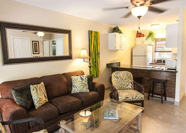 71-3 Secluded lanai is a great feature of this lovely one bedroom  in Puamana - Image 1 - Lahaina - rentals