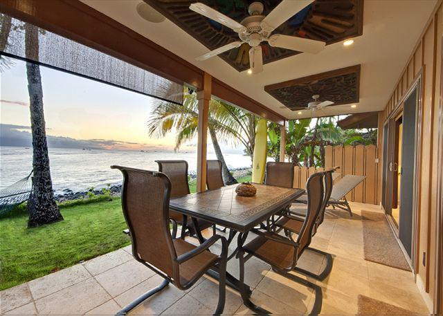 Lanai at Sunset - Private Jewel Right on the Ocean! - Lahaina - rentals