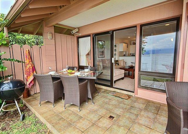 Very Private Ocean Front Townhouse  ROMANTIC - Image 1 - Lahaina - rentals