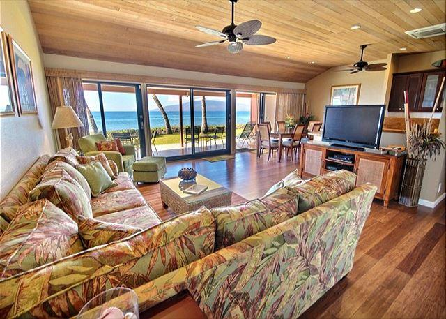 Oceanfront 176-2 Outstanding Location on the water - Image 1 - Lahaina - rentals
