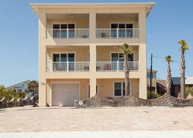 Gloria Beach House is a brand new vacation rental - Gloria Beach House, 5 Bedrooms, Deluxe, Beach Front - Saint Augustine - rentals