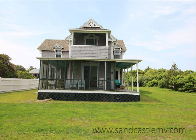 CLASSIC VICTORIAN WITH BEACH & SPECTACULAR VIEWS OF EDGARTOWN HARBOR - Image 1 - Edgartown - rentals