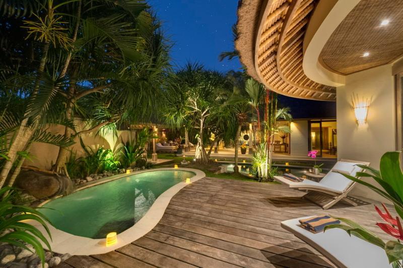 Swimming Pool Area - Villa Tirta Naga - 2 Bedroom Private Villas - Seminyak - rentals