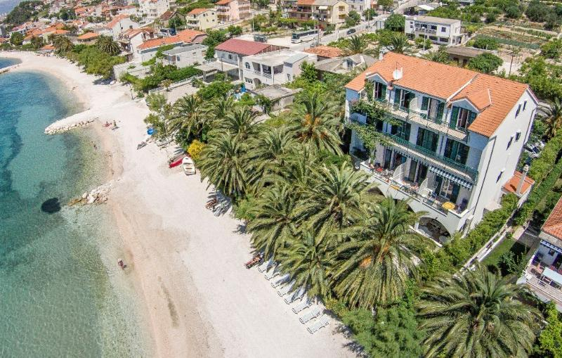 View Villa from air - Amazing beach apartment Palms 12 people - Split - rentals
