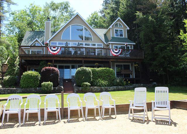 Luxury Waterfront Lake Winnipesaukee (CAV107Wf) - Image 1 - Moultonborough - rentals