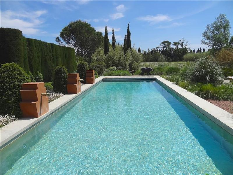 St. Remy-de-Provence, Sumptuous Bastide with Glorious Garden, 2 Beautiful Pools and  a Tennis Court, - Image 1 - Saint-Remy-de-Provence - rentals