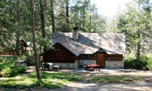 1 Bedroom, Sleeps 4,  Pets OK Fenced Yard: Walking distance to town, Rock fireplace, full kitchen, queen bed, and sofa bed. - Artist Cottage - Idyllwild - rentals