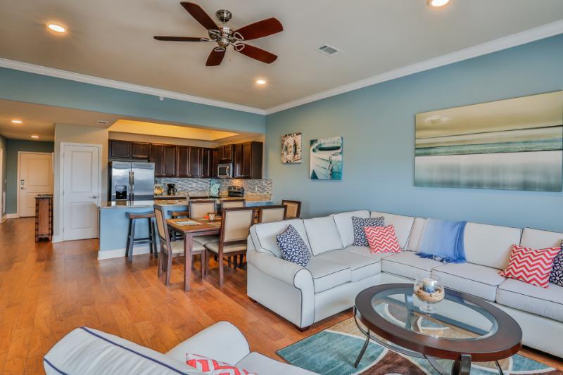 Living room view - ALERIO D403 - Miramar Beach - rentals
